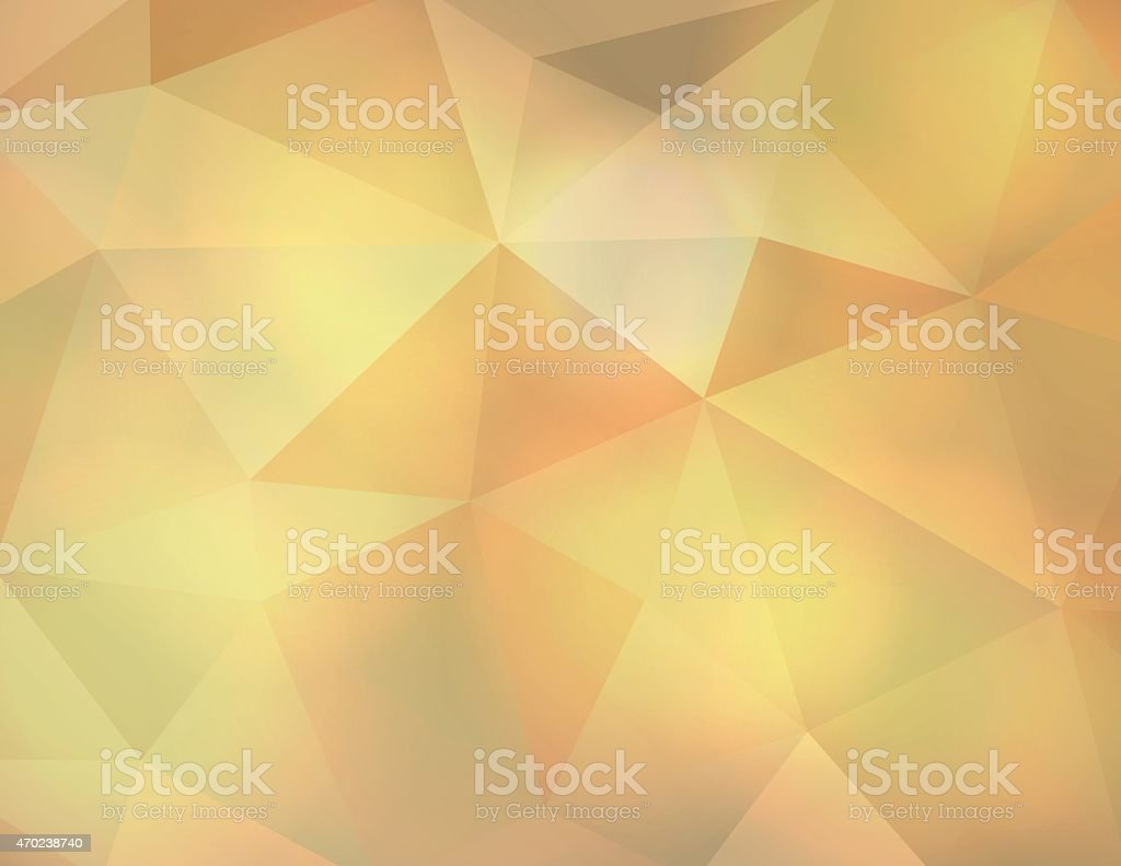 Vector Abstract Earth Tone Triangle Background Illustration vector art illustration