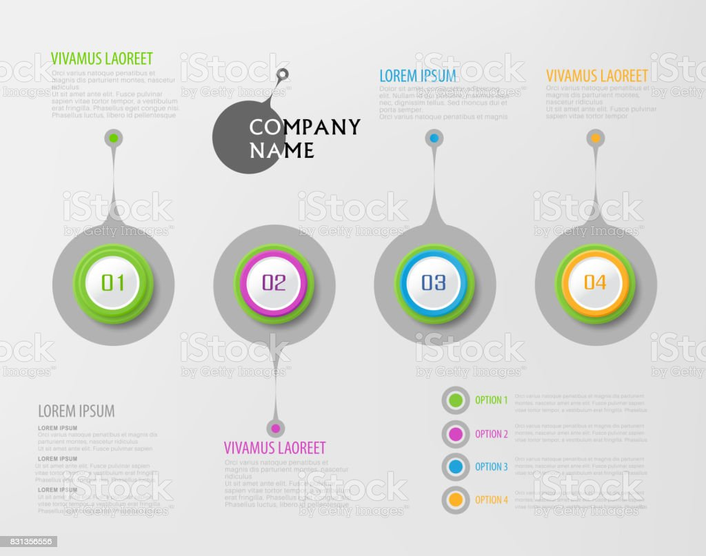 vector abstract element for business strategy in stages steps of