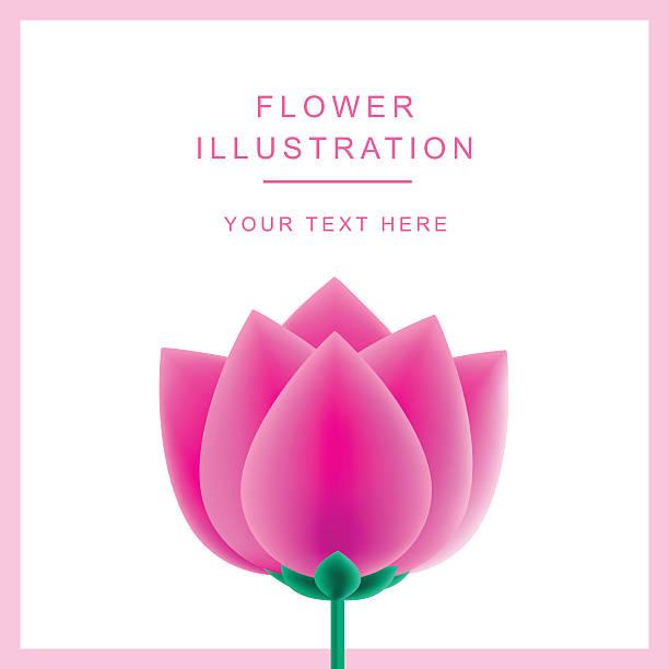 Vector abstract flower rose vector art illustration