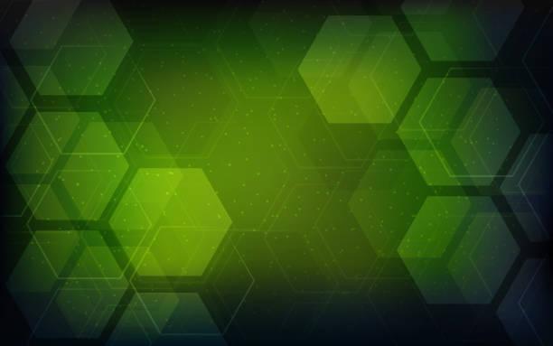 stockillustraties, clipart, cartoons en iconen met vector abstracte geometrische achtergrond. brochure sjabloonontwerp - green background