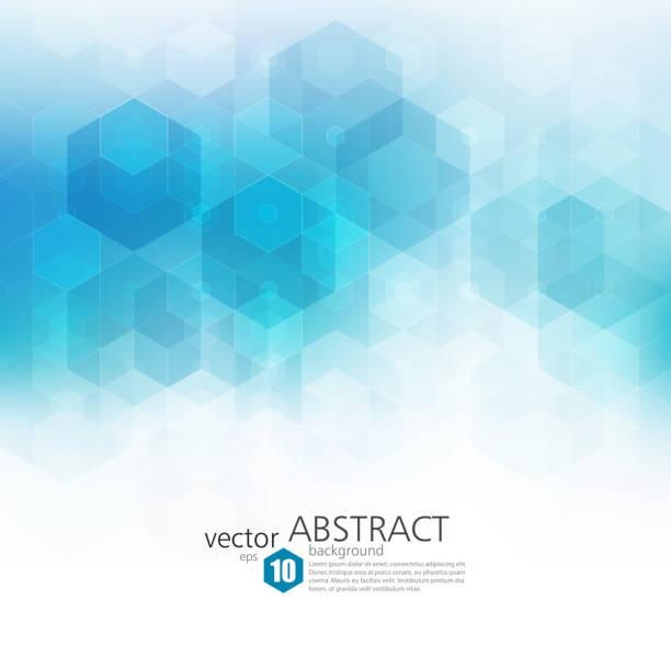 illustrations, cliparts, dessins animés et icônes de abstrait géométrique vecteur de fond. conception de modèle brochure - infographies médicales