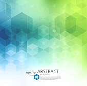 istock Vector Abstract geometric background. Template brochure design 622048966