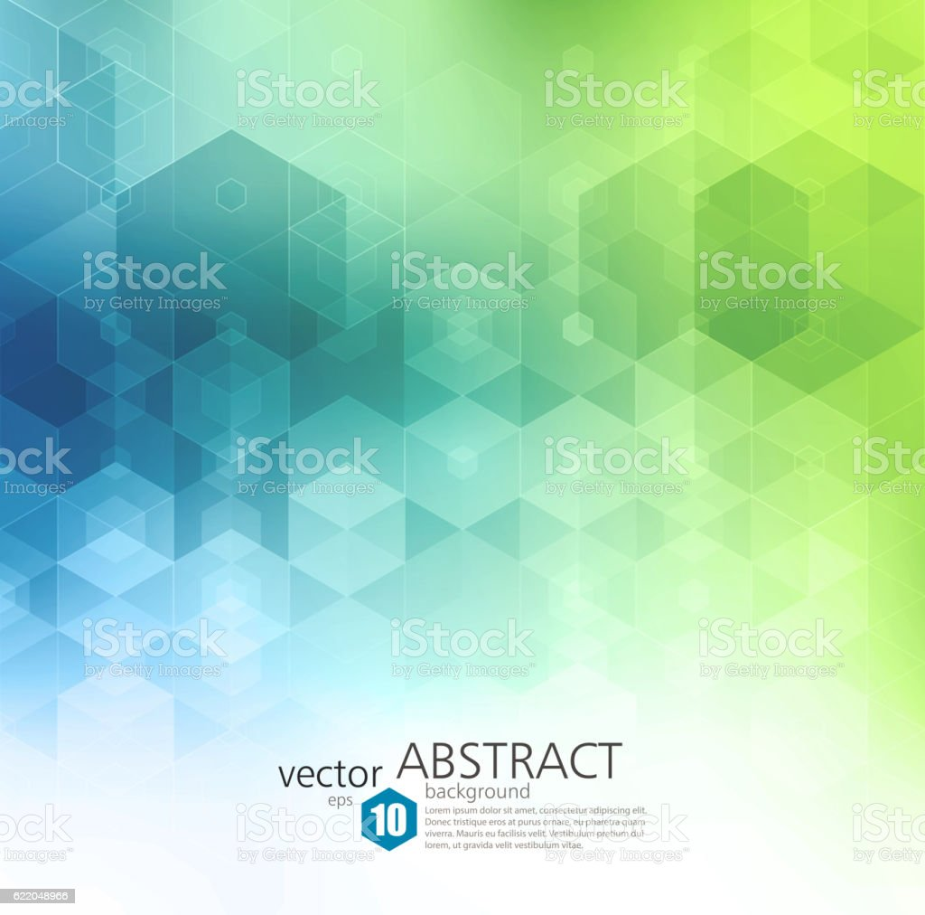 Vector Abstract geometric background. Template brochure design vektör sanat illüstrasyonu