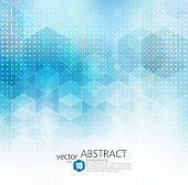 Vector Abstract geometric background. Template brochure design