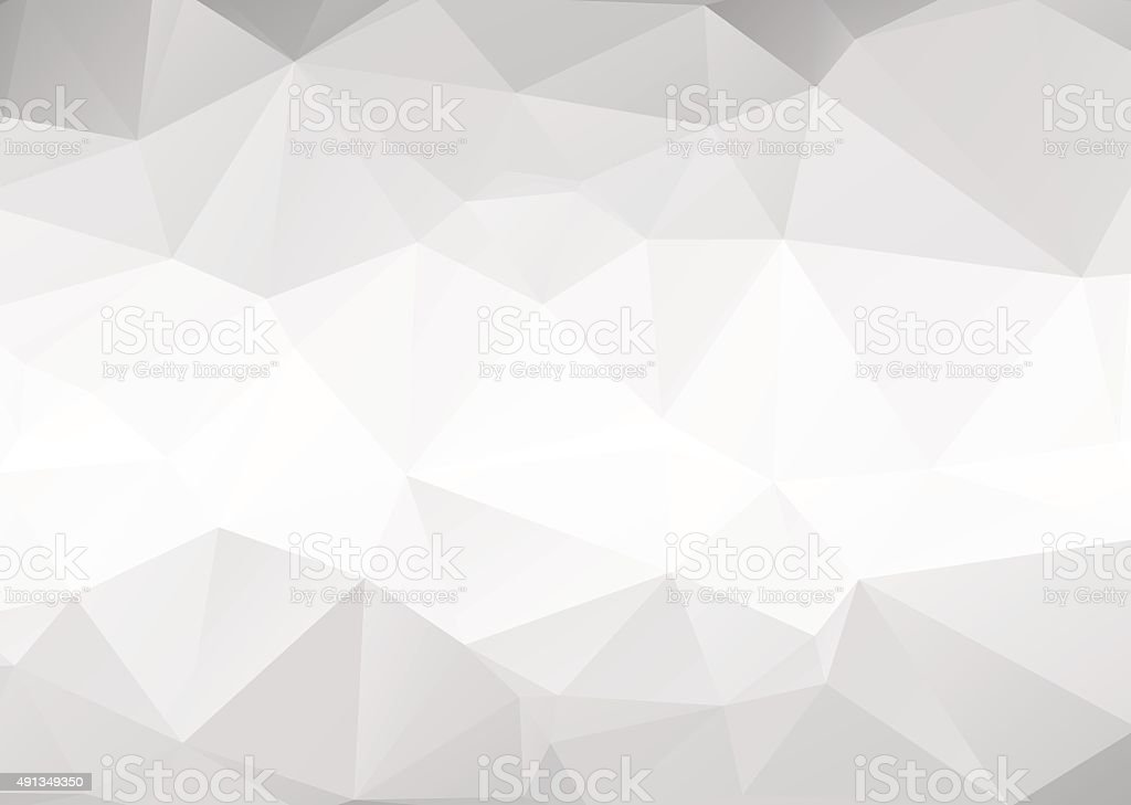 Vector abstract gray triangles background vector art illustration