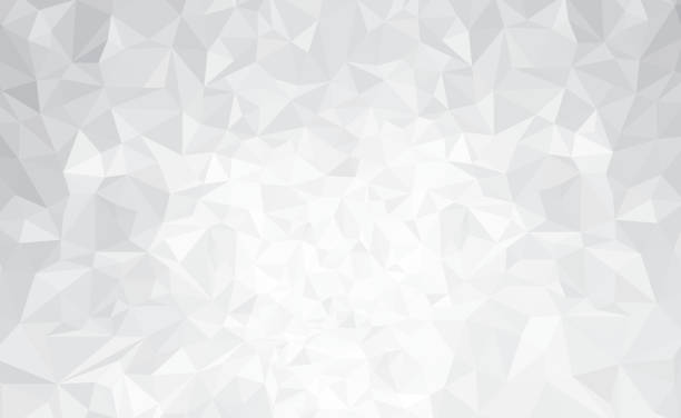 Vector Abstract Gray Triangles Background Art Illustration