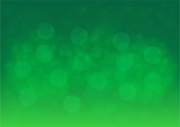Vektor-abstrakte grüne Bokeh-Hintergrund – Vektorgrafik