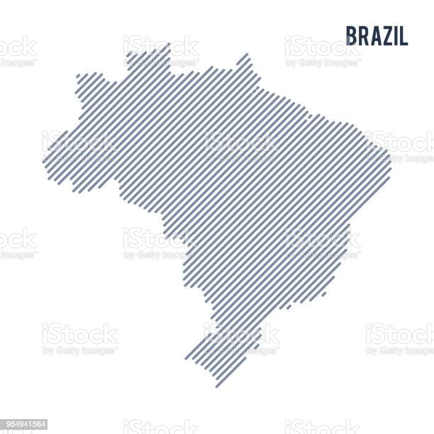 Vector abstract hatched map of brazil with oblique lines isolated on vector id954941564?b=1&k=6&m=954941564&s=612x612&h=n09slyevhkajalesphdlps7upn tb1vtu8vymqah7xw=