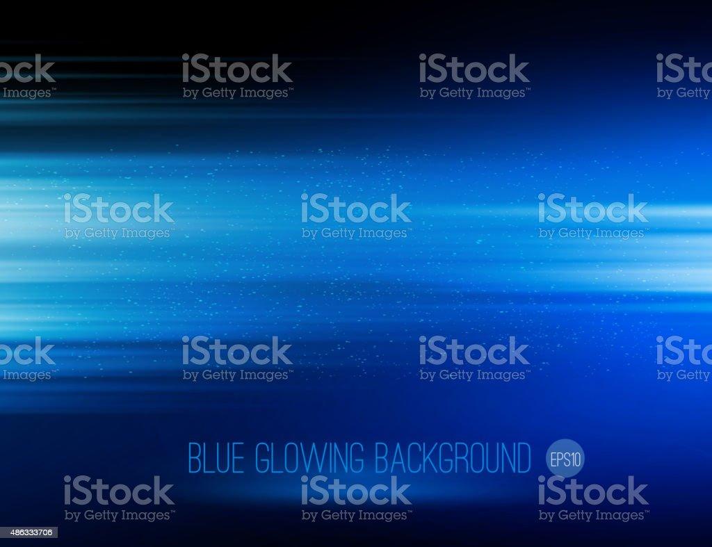 vector abstract horizontal energy design against dark backgroundvectorkunst illustratie