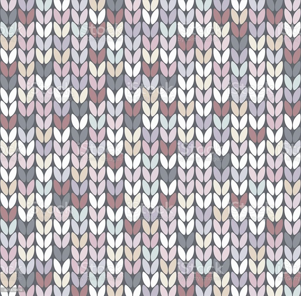 Knitting Vector Patterns : Vector abstract knit pattern stock art more