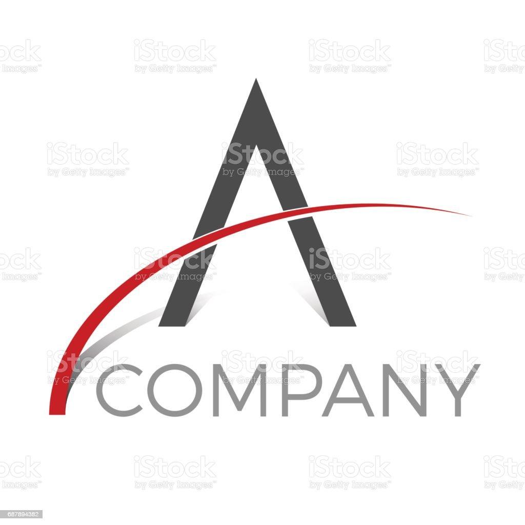 Vektor Abstrakten Buchstaben A Stock Vektor Art und mehr Bilder von ...