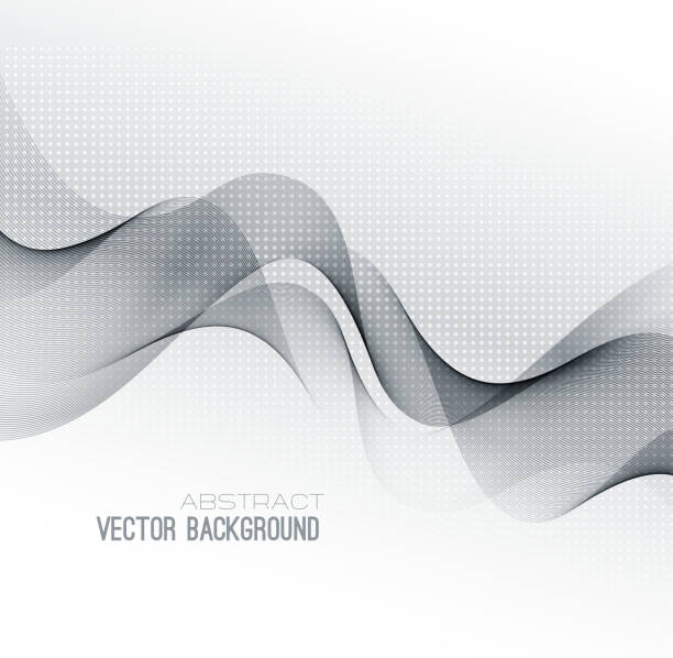 vector abstract lines background. template design - 時代 幅插畫檔、美工圖案、卡通及圖標