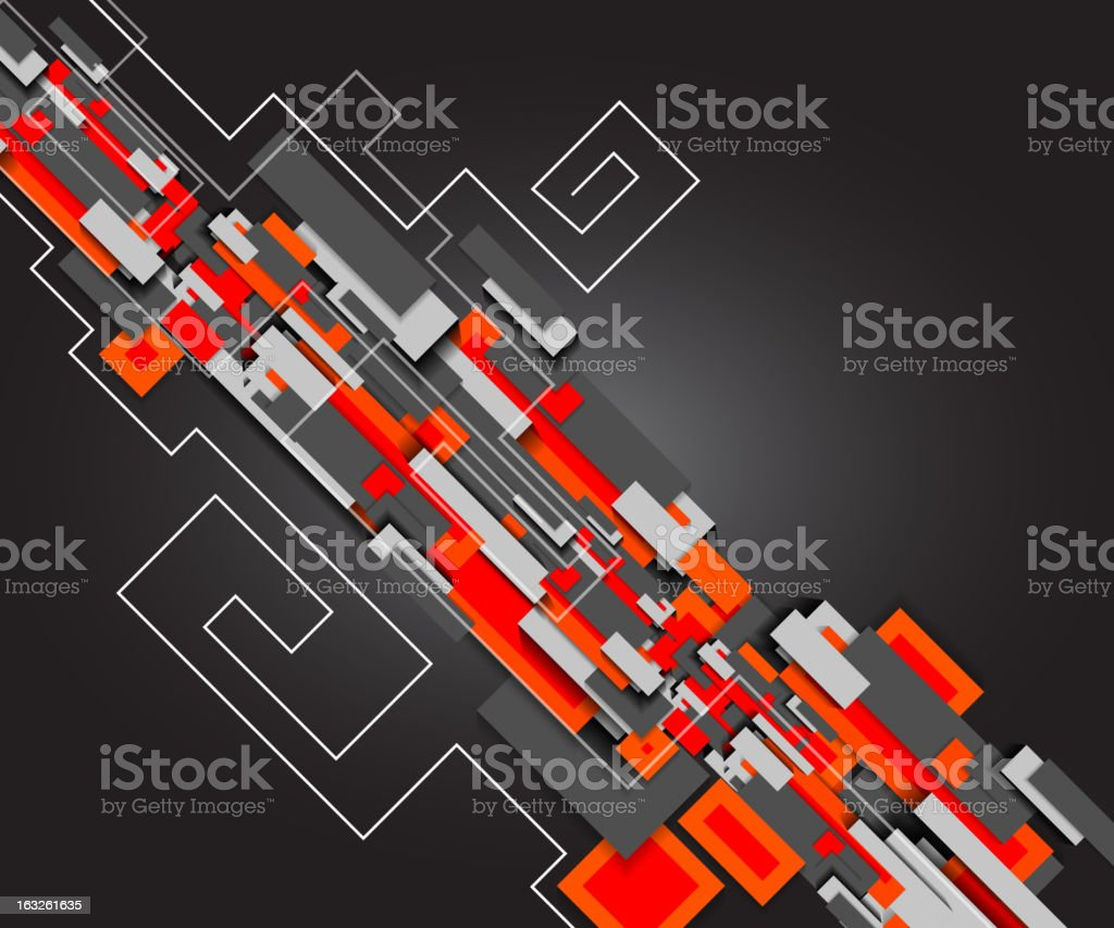 Vector abstract motion background royalty-free stock vector art