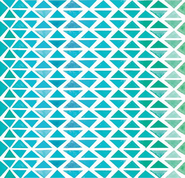 vector abstract pattern of color triangle - ilustración de arte vectorial