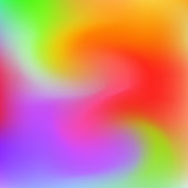 Vector abstract rainbow liquid colorful vibrant background. Creative deign