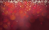 Vector abstract red background.