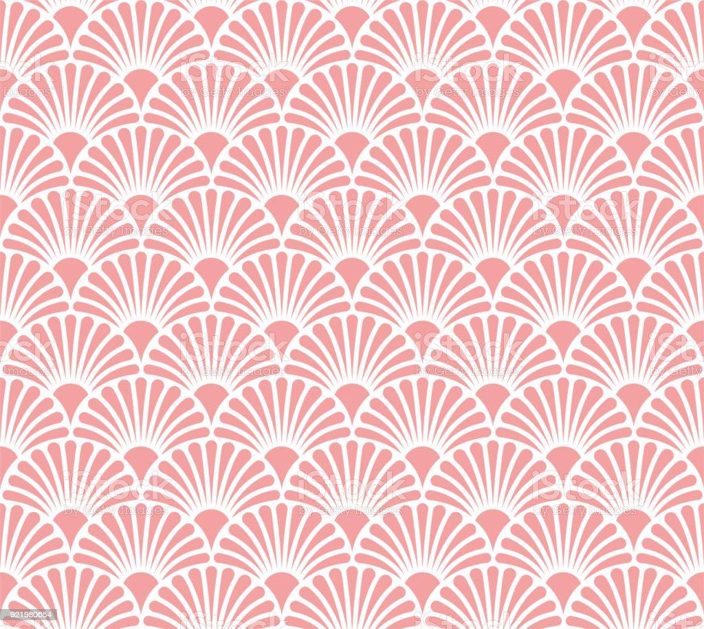 Vetor abstrato padrão sem emenda. Fundo de estilo Art Déco. Textura geométrica. - ilustração de arte em vetor