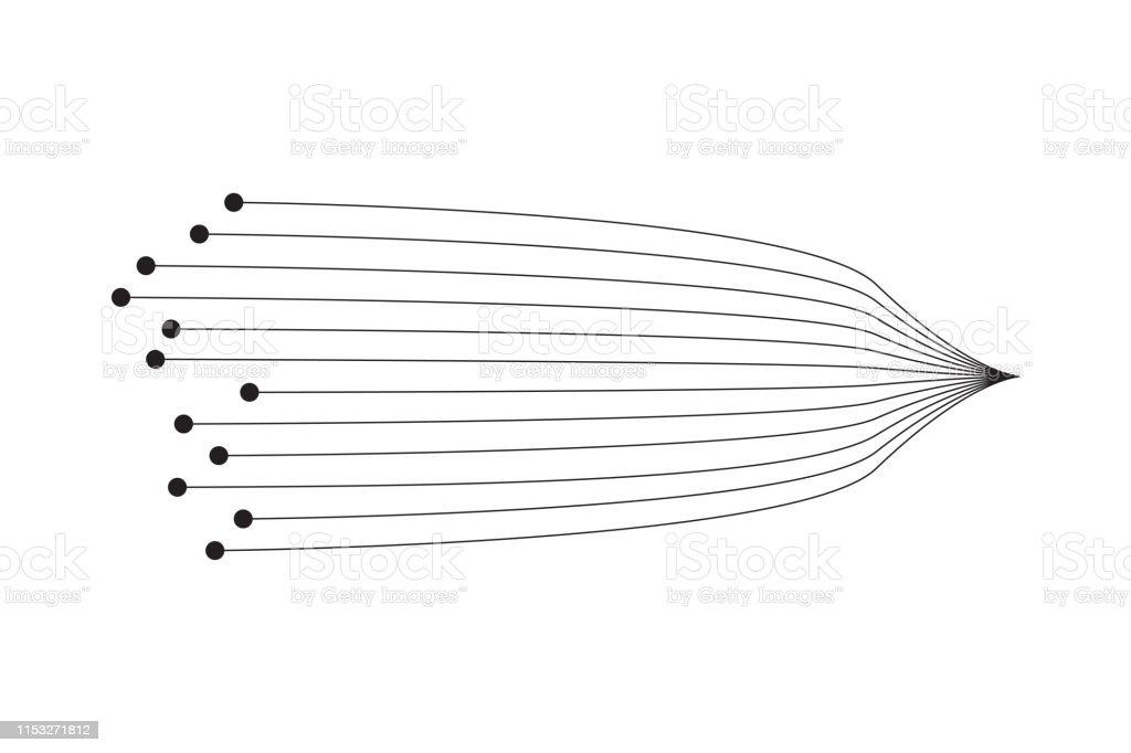 Vector Abstract Shape Forme De Conception Universelle Géométrique