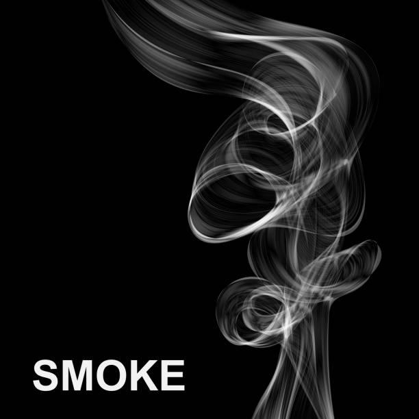 Vector abstract smoke background. vector art illustration