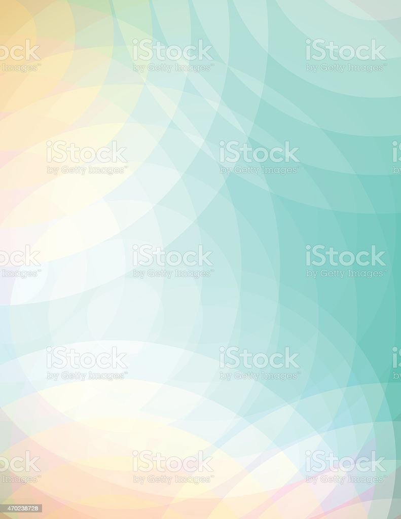 Vector Abstract Soft Circles Background Illustration vector art illustration