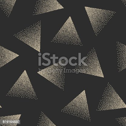 istock Vector Abstract Stippled Seamless Pattern 819164532