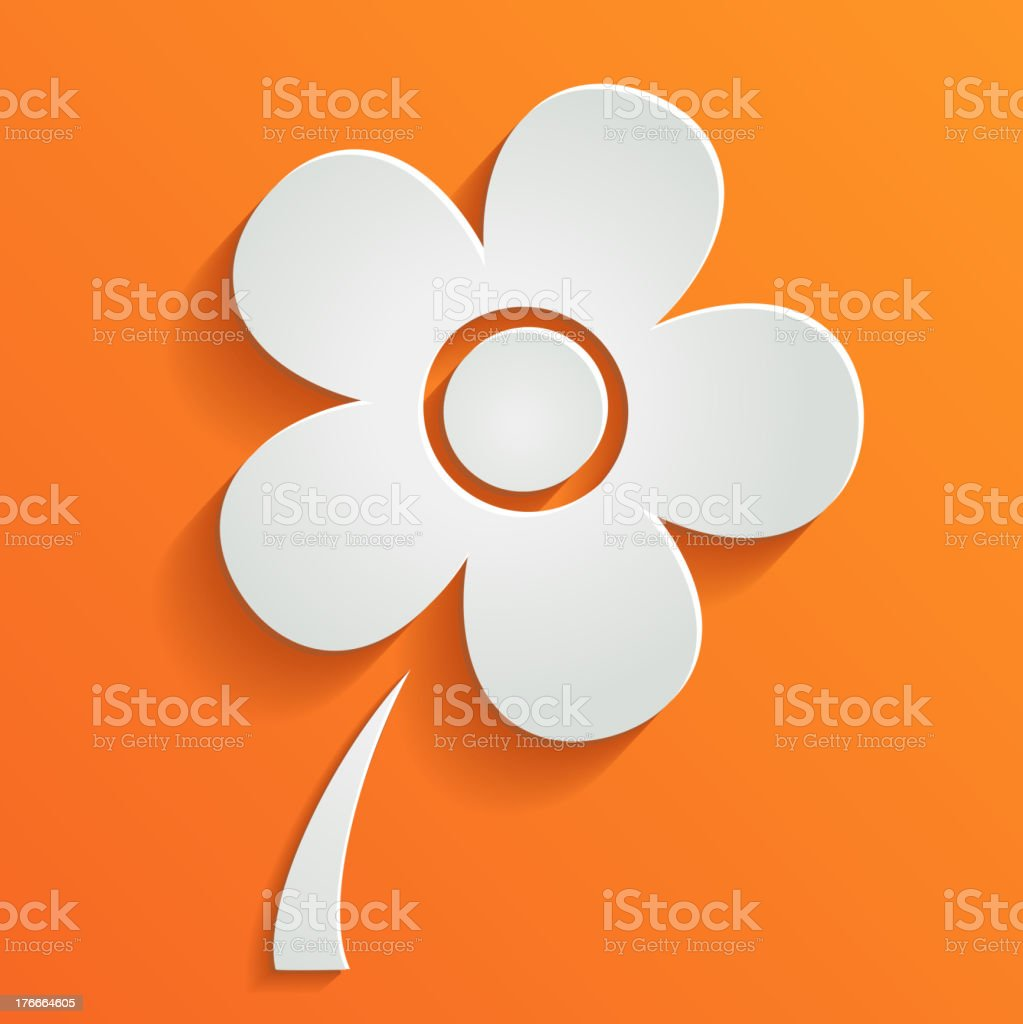 Vector abstract summer background with white flower royalty-free vector abstract summer background with white flower stock vector art & more images of abstract