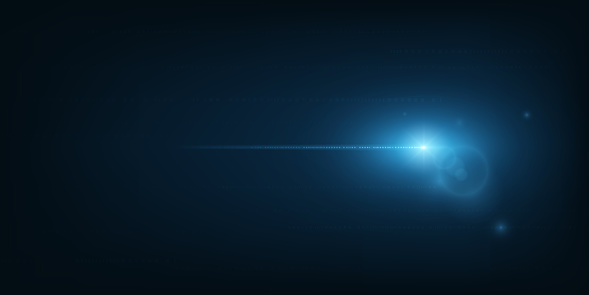 Vector abstract technology hi-tech background with concept speed movement motion blue moving fast flart light.