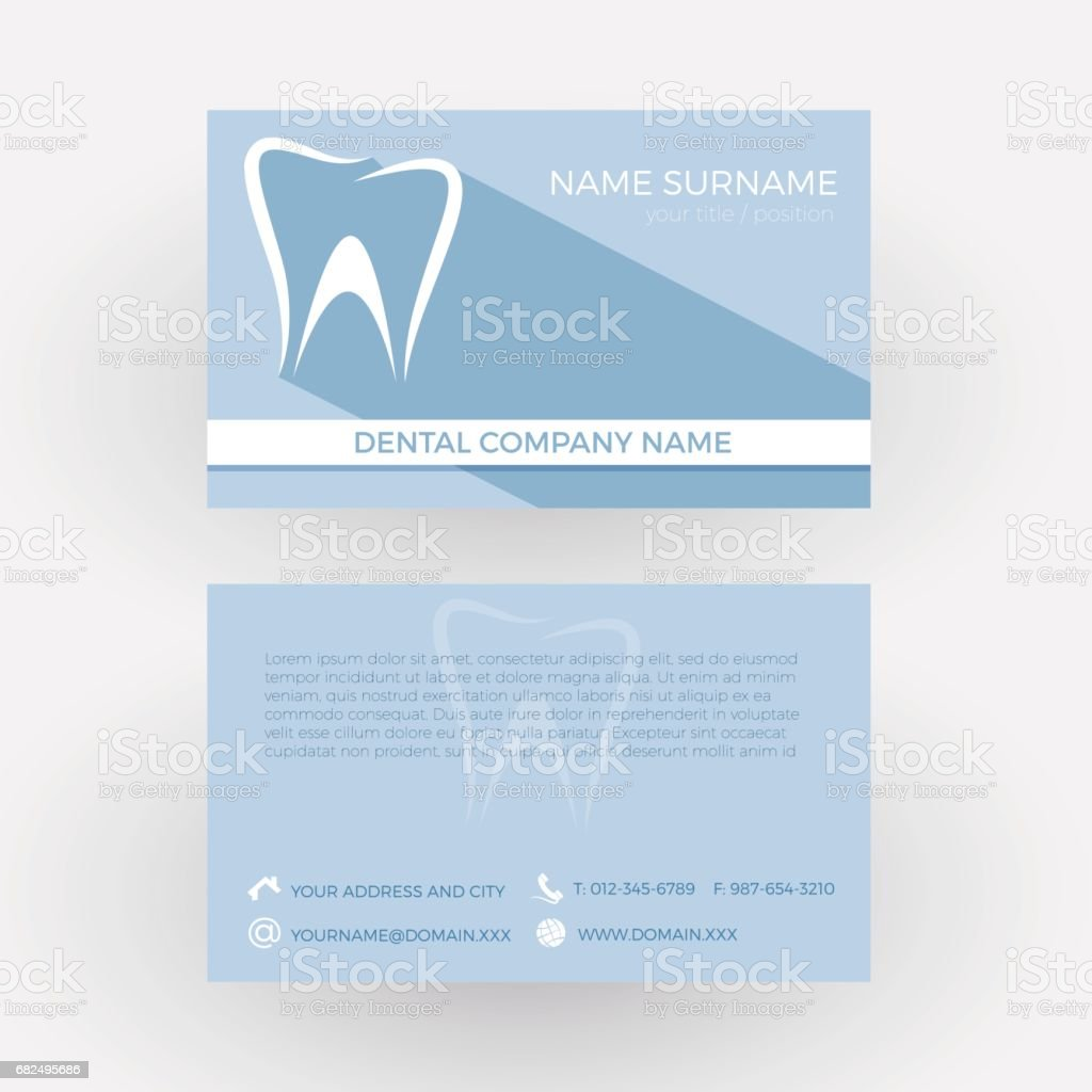 Vector Abstract tooth, concept of dentist. Business card royalty-free vector abstract tooth concept of dentist business card stock vector art & more images of abstract