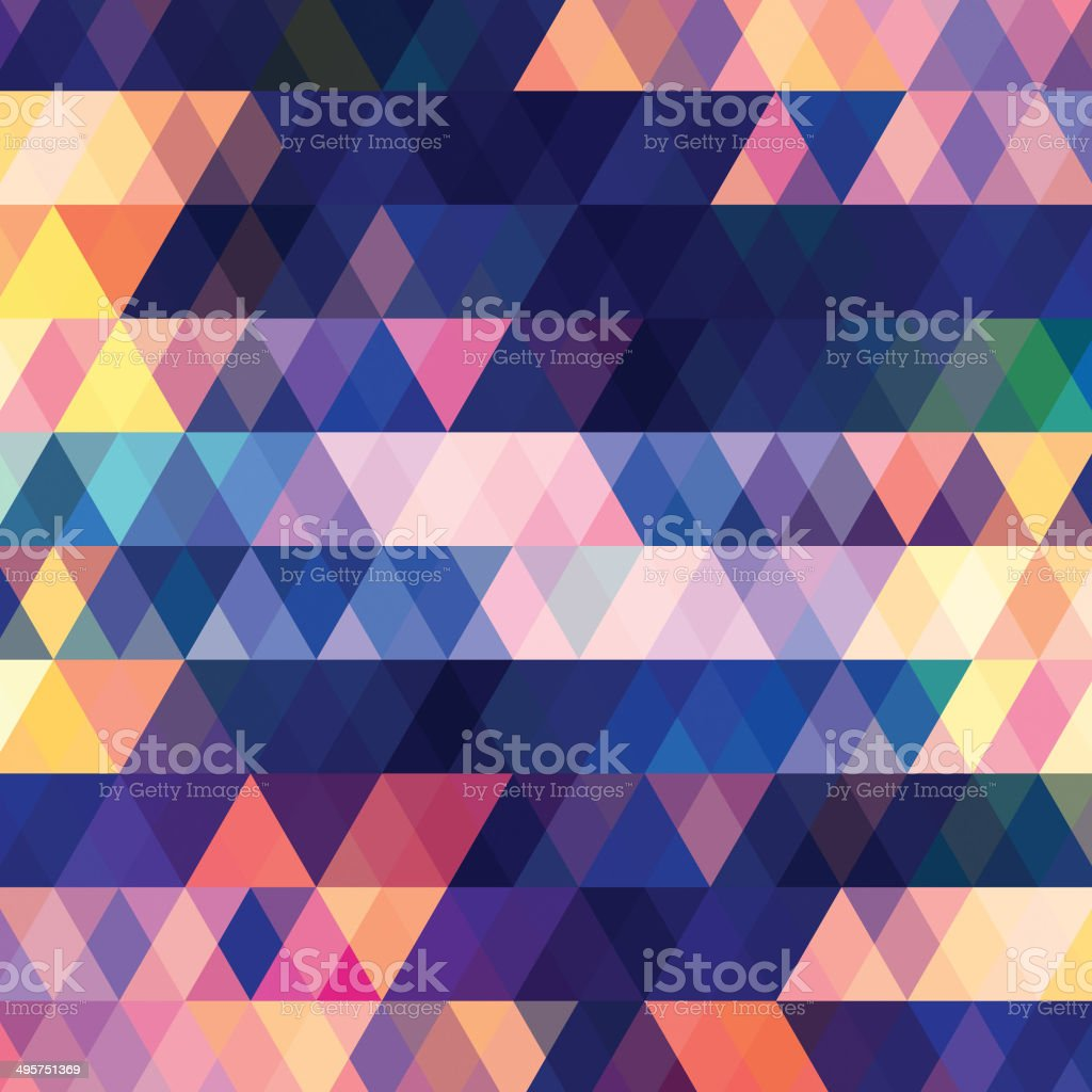 Vector Abstract Triangle Background vector art illustration