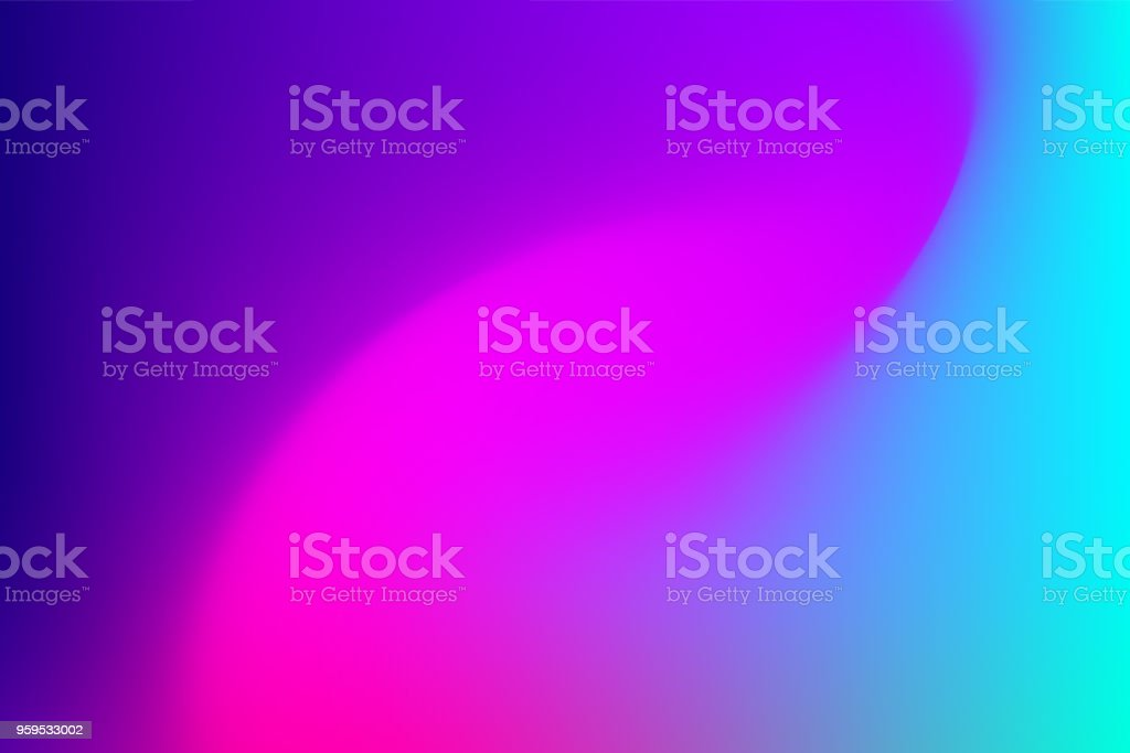 Vector abstract vibrant mesh background: Fuchsia to blue.