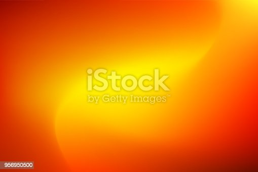 istock Vector abstract vibrant mesh background: Red to yellow. 956950500