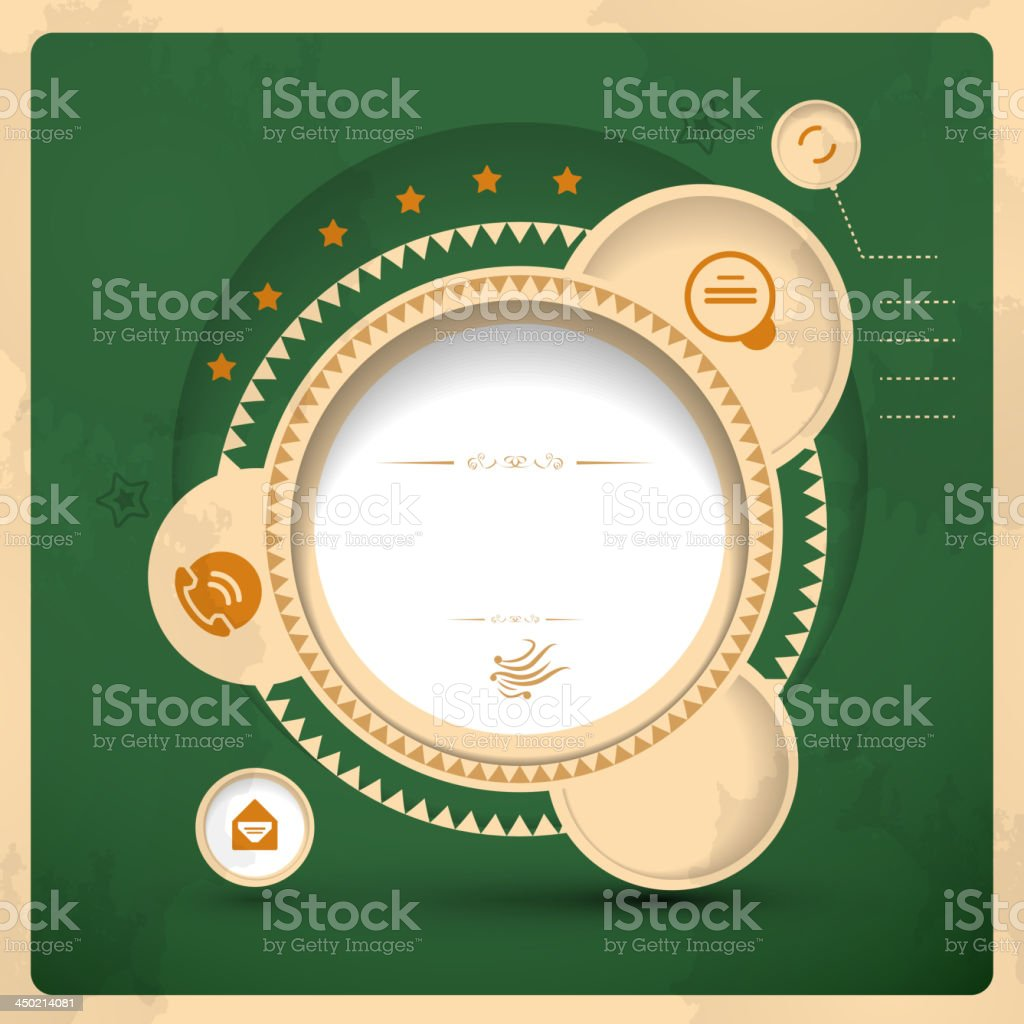 Vector abstract website layout royalty-free stock vector art