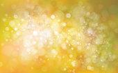 Vector bokeh yellow  background for autumn design.
