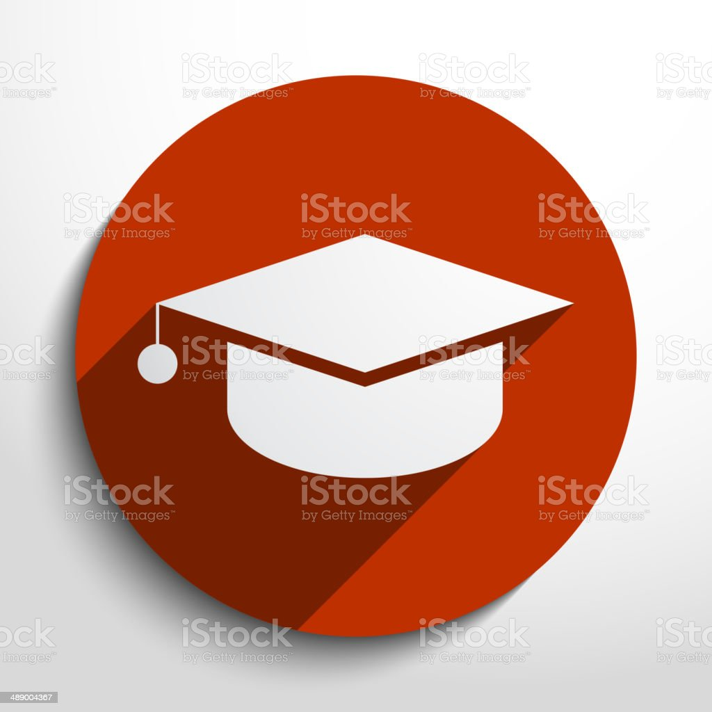 Vector Academic Cap Web Icon Stock Vector Art   More Images of ... d9e08766bac
