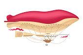 vector airship, zeppelin, dirigible
