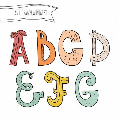 Download Vector Alphabet Stock Illustration - Download Image Now ...