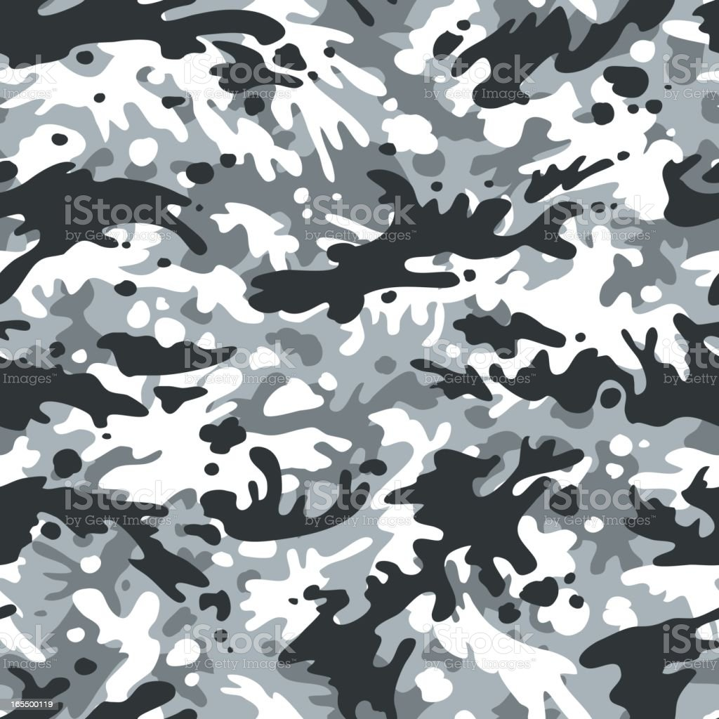 Vector Alpine Camouflage - Seamless royalty-free vector alpine camouflage seamless stock vector art & more images of abstract