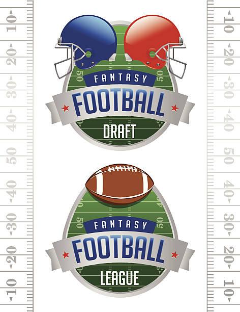 ilustrações de stock, clip art, desenhos animados e ícones de vetor ilustrações de fantasia de futebol americano - primeiro down futebol americano