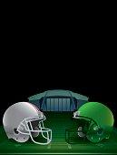 Vector American Football Championship Illustration