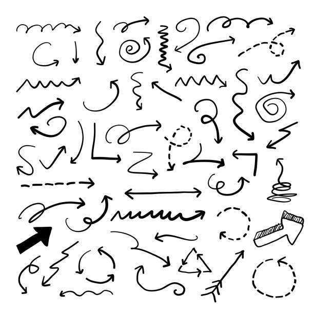 Silhouette Of A Squiggly Line Illustrations, Royalty-Free ...