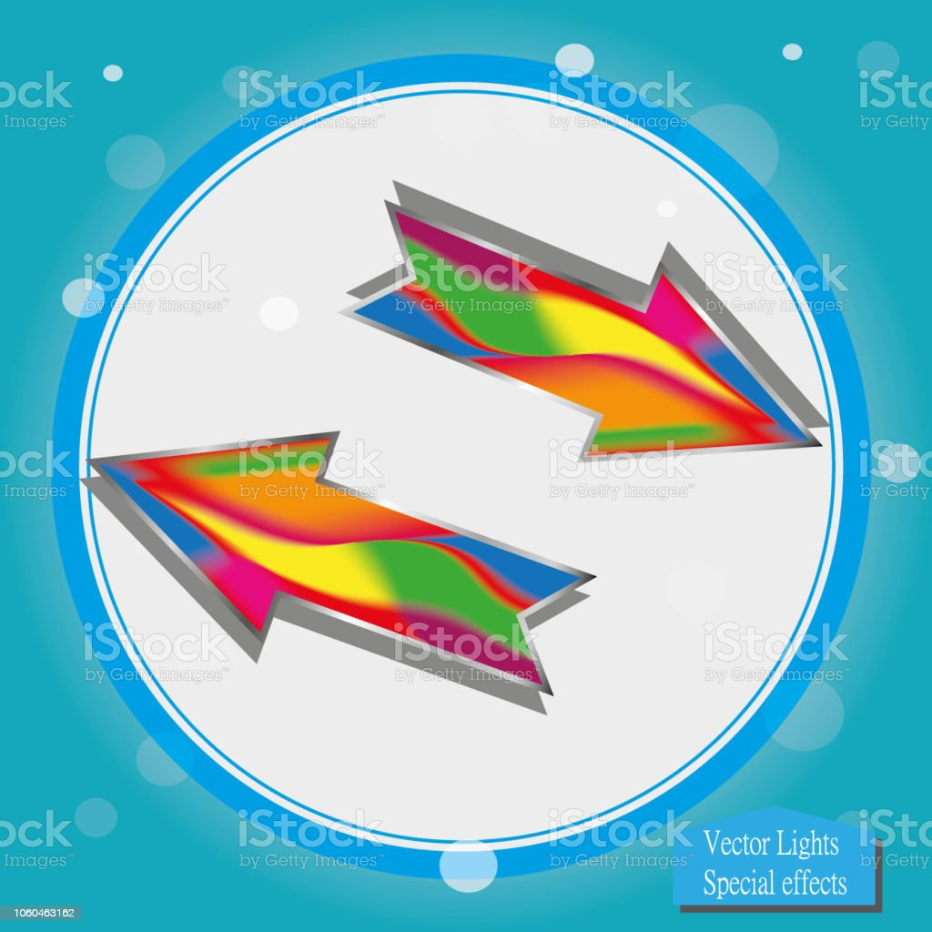 ic u00f4ne de fl u00e8che de vecteur mod u00e8le de logo abstrait de