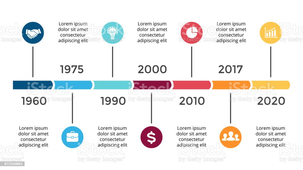 Vector arrows circles timeline infographic diagram chart graph vector arrows circles timeline infographic diagram chart graph presentation business progress concept with ccuart Images