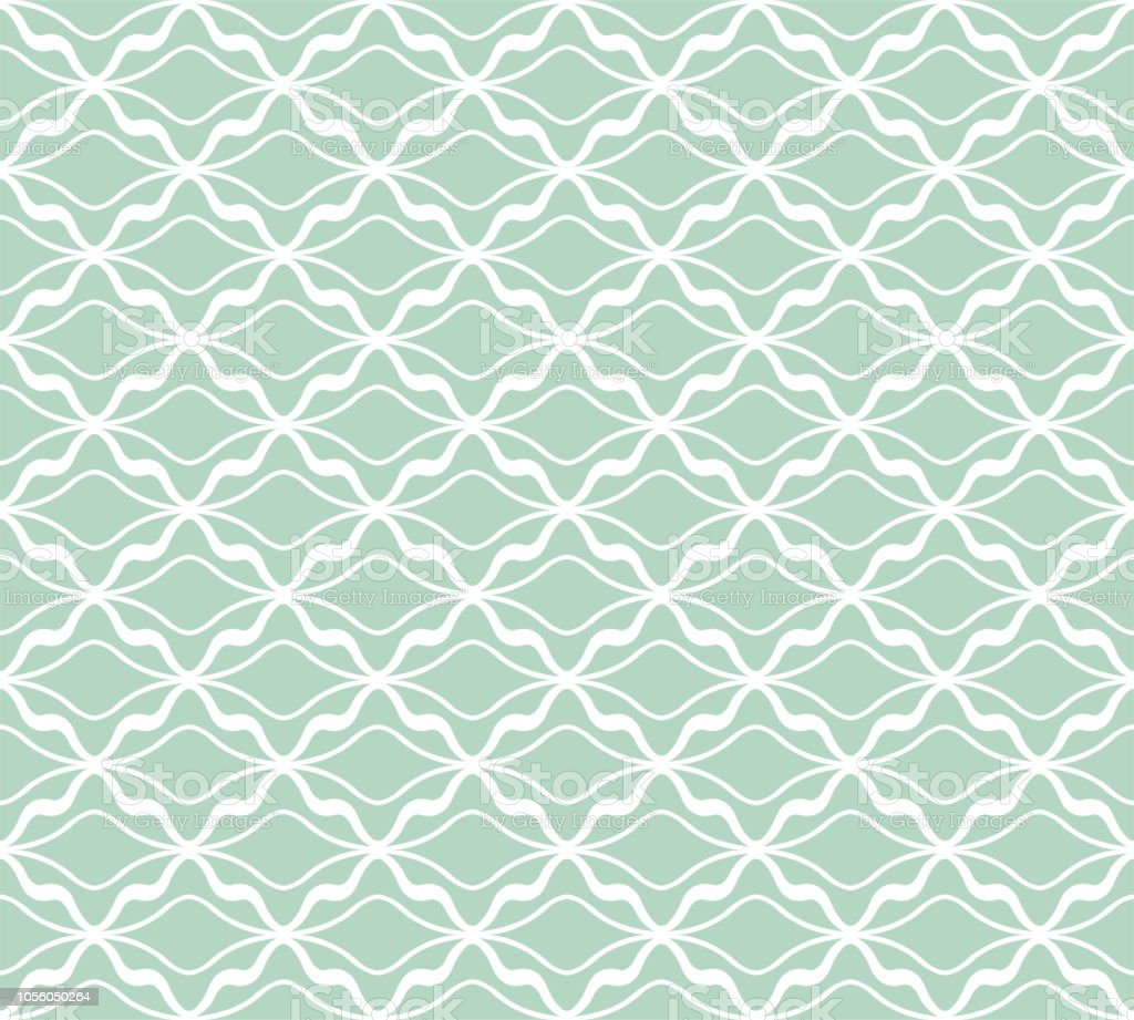Vector Art Deco Pattern. Seamless Abstract Background. Geometric Vintage Style Texture.