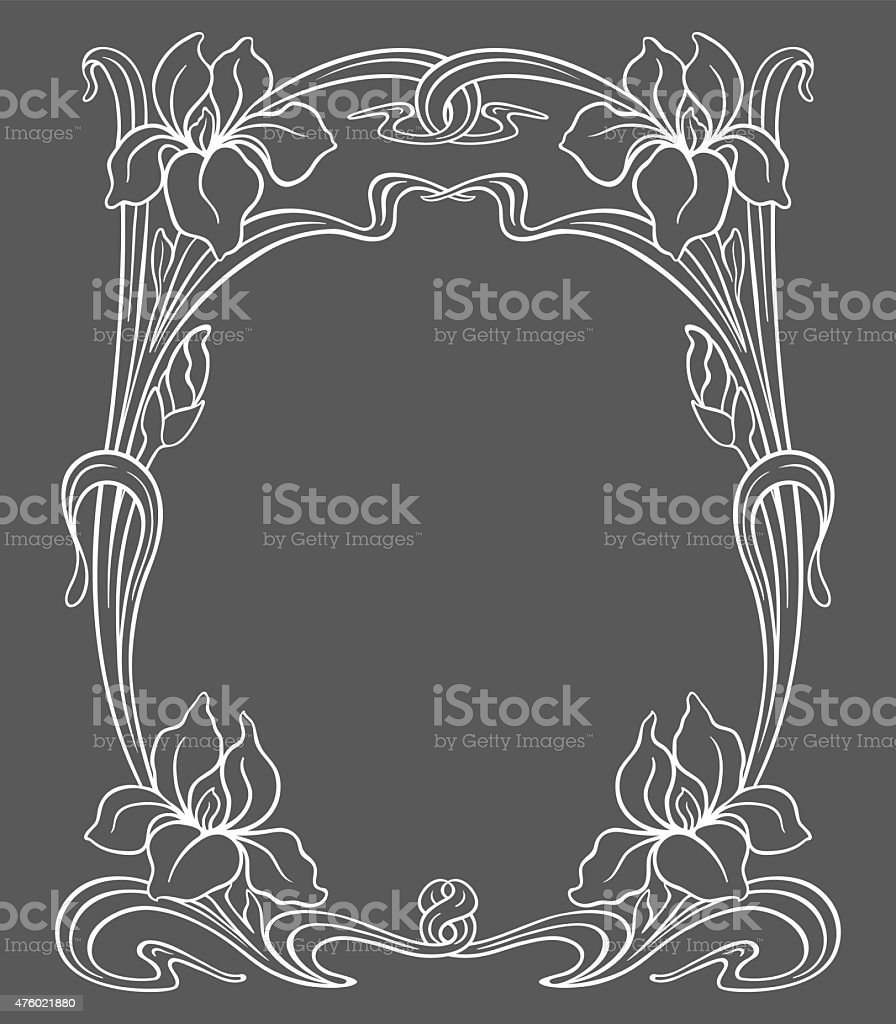 vector art nouveau ornament stock vector art more images of 2015 476021880 istock. Black Bedroom Furniture Sets. Home Design Ideas