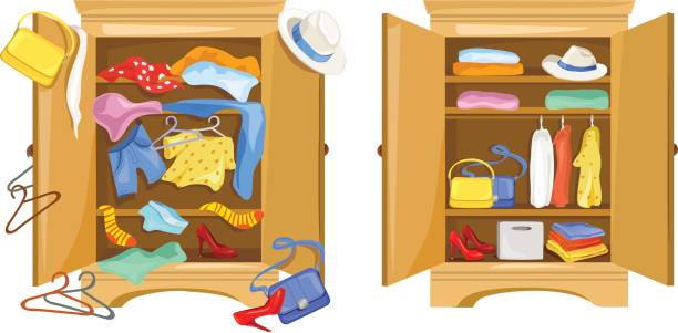 Room Clip Art: Best Tidy Room Illustrations, Royalty-Free Vector Graphics