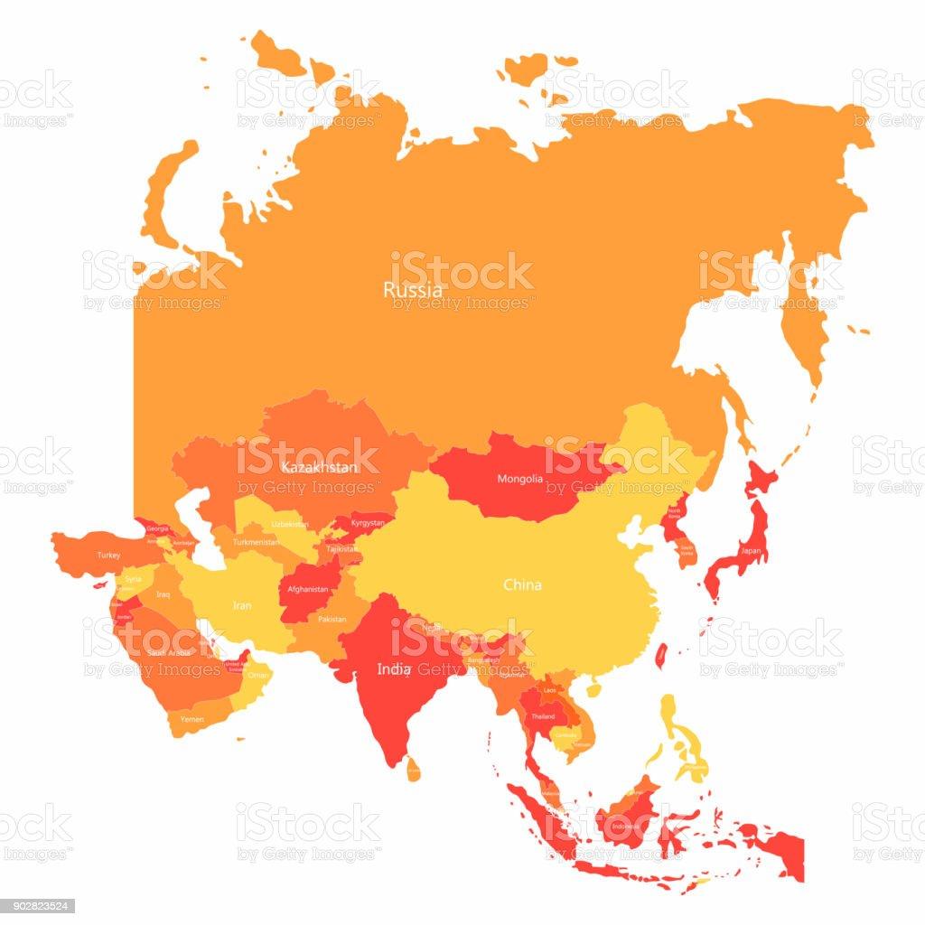 asien grenzen