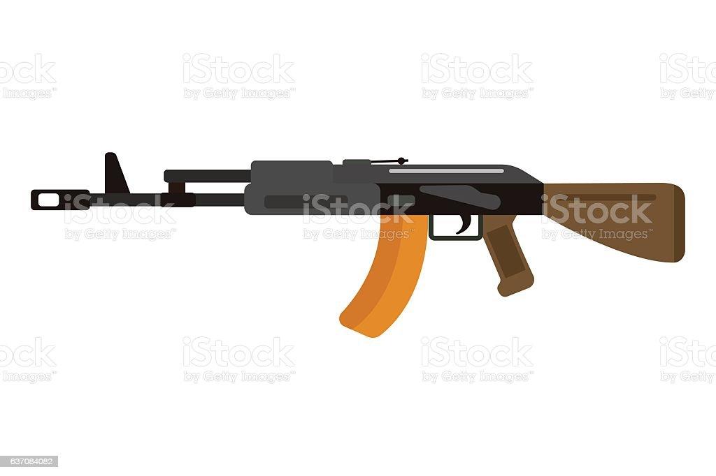 rifle magazine clip art vector images illustrations istock rh istockphoto com  kriss vector assault rifle