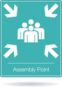 vector assembly point sign