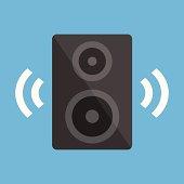 Vector Audio Speaker Icon