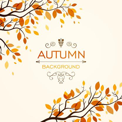 Vector Autumn Design Stock Illustration - Download Image Now